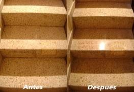 Abrillantado de Escaleras de Terrazo – Imagen