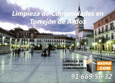 Empresa de Limpieza de Comunidades en Torrejon de Ardoz