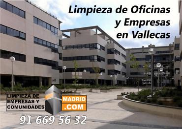 Empresa de Limpieza de Oficinas en Vallecas