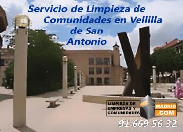 Empresa de Limpieza de Comunidades en Velilla de San Antonio