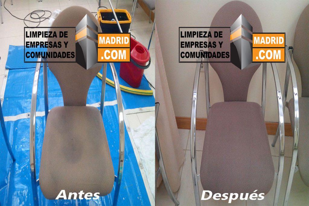 Limpieza de sillas de oficina limpieza de sillas a domicilio for Empresas de limpieza de oficinas en madrid