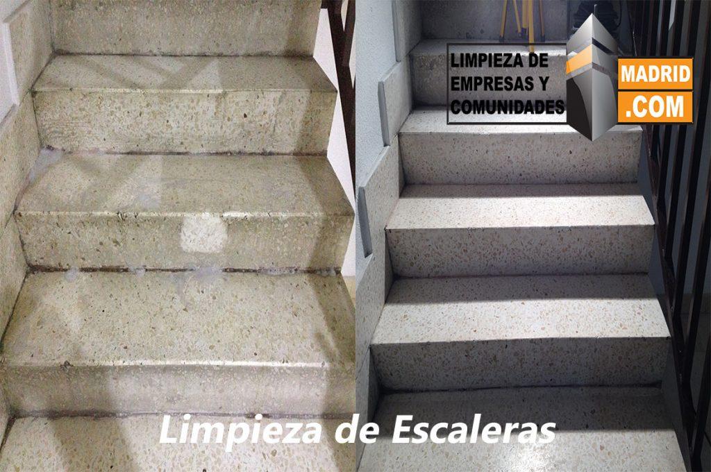 Limpieza de Escaleras en Comunidades