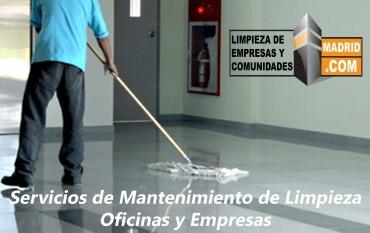 Empresa de Limpieza de Oficinas en Madrid