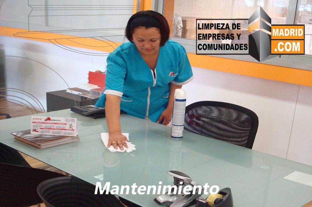 Mantenimiento de Limpieza en Oficinas y Empresas