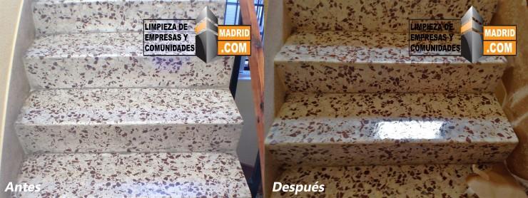 Pulido de Escaleras de Terrazo