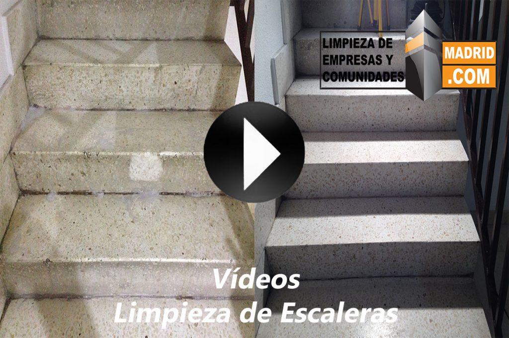 Vídeo de Limpieza de Escaleras