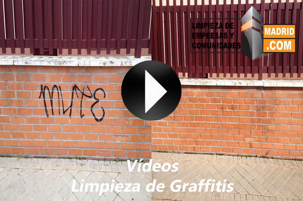 Vídeo de Limpieza de Graffitis