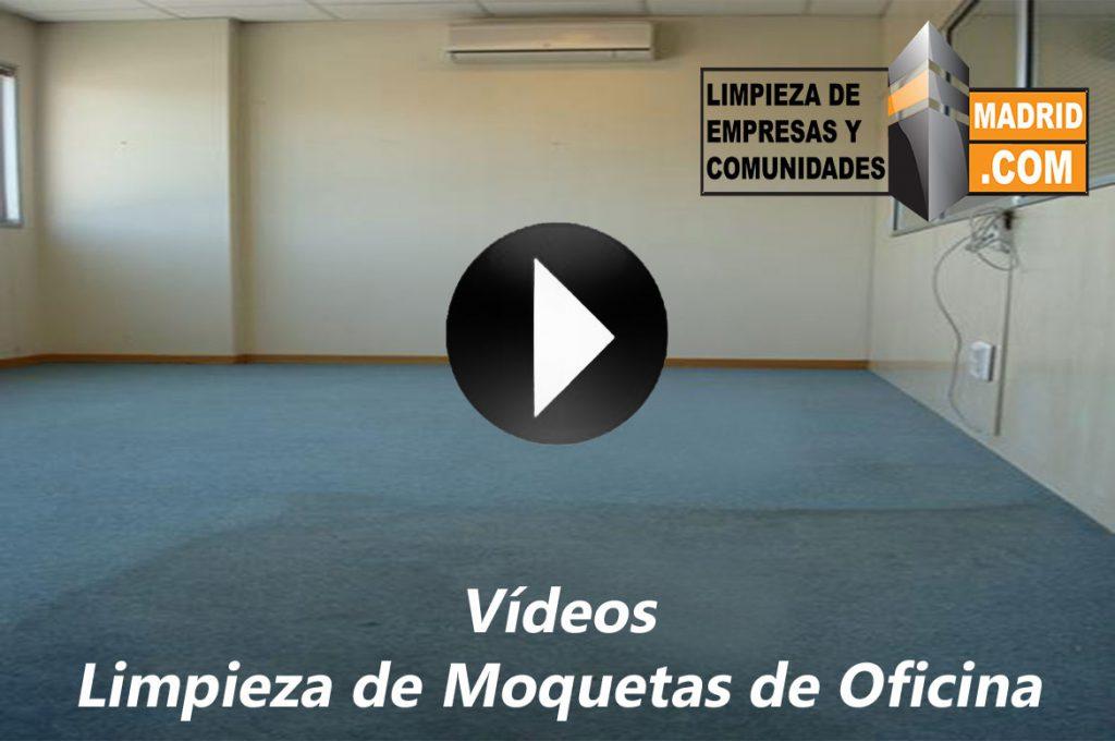 Vídeo de Limpieza de Moquetas de Oficinas