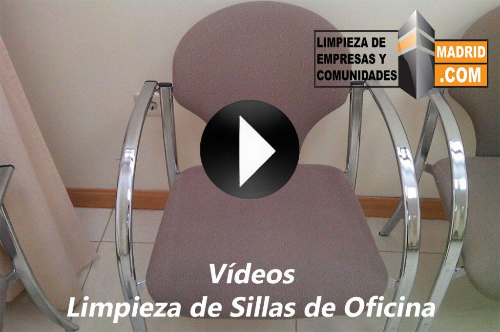 Vídeo de Limpieza de Sillas de Oficina