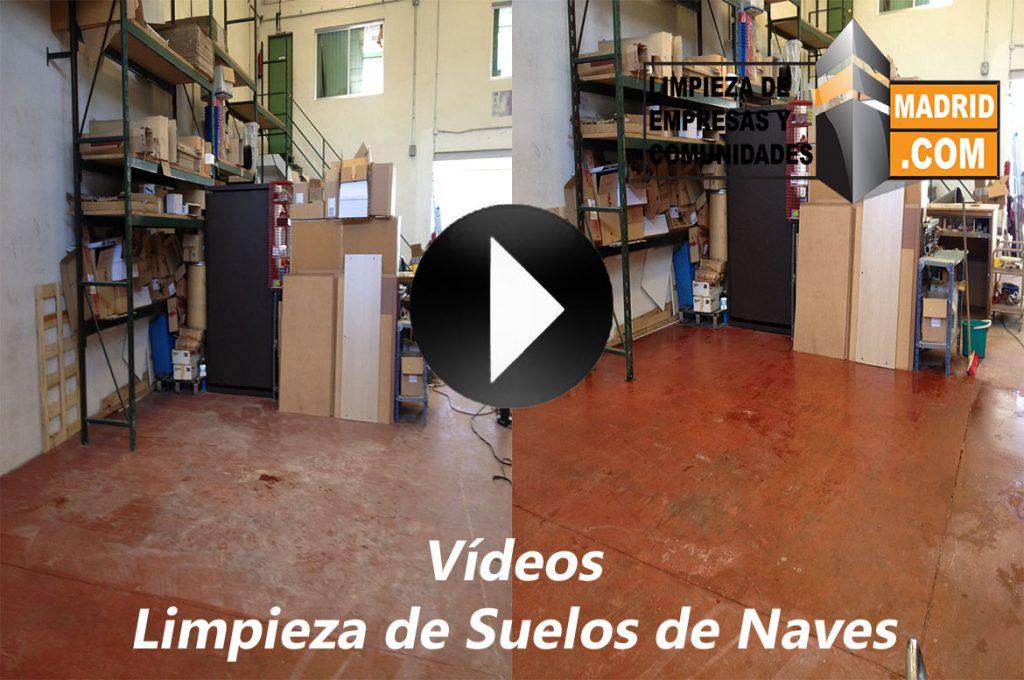 Vídeo de Limpieza de Suelos de Naves Industriales