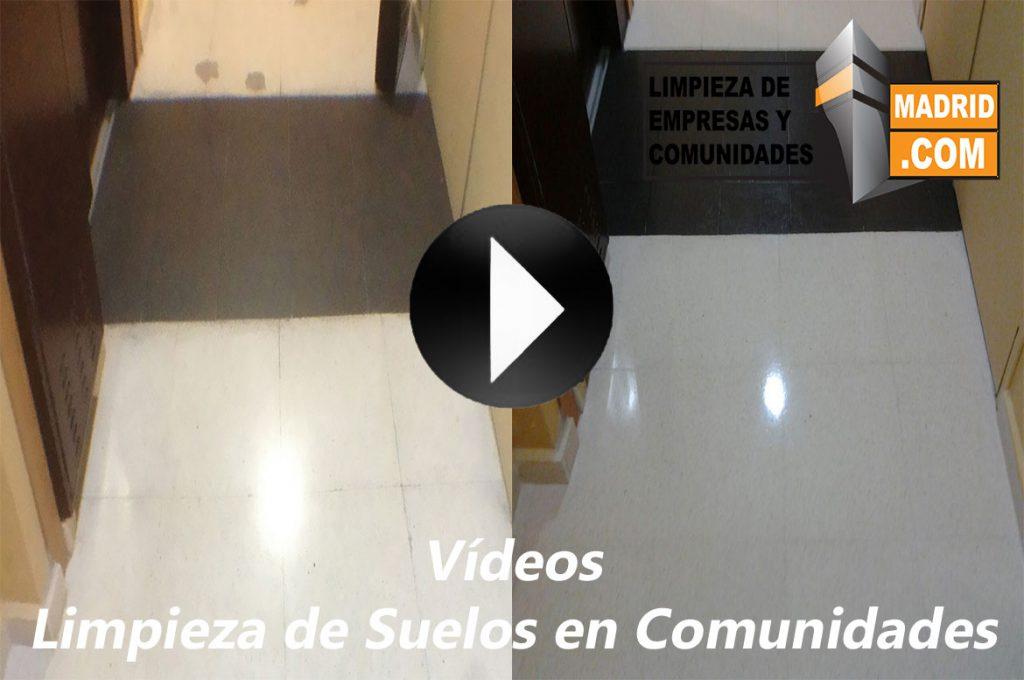 Vídeo de Limpieza de Suelos en Comunidades