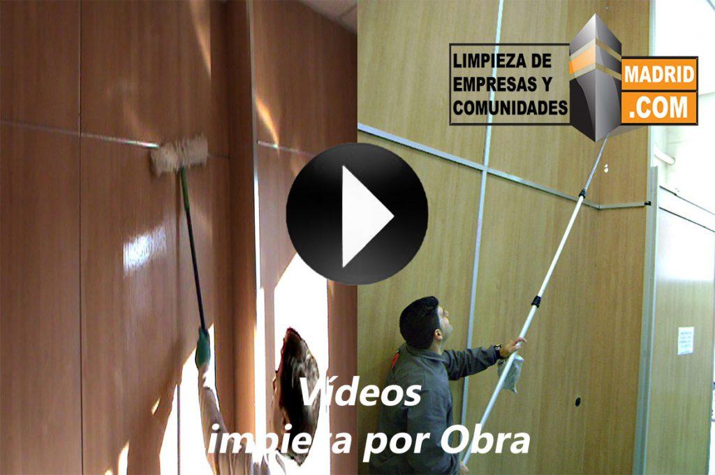 Vídeo de Limpieza por Obra
