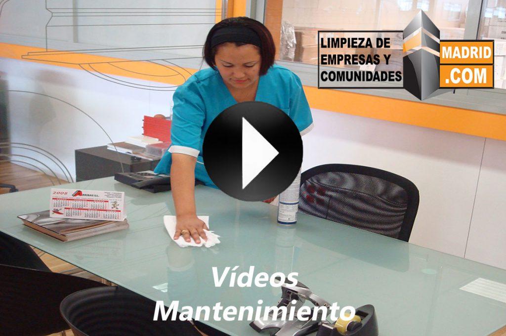 Vídeo de Mantenimiento de Limpieza de Oficinas
