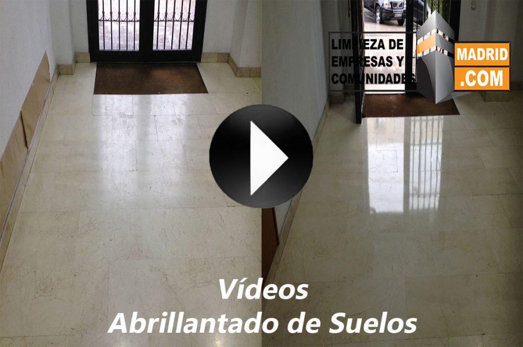 Vídeo de Abrillantado de Suelos